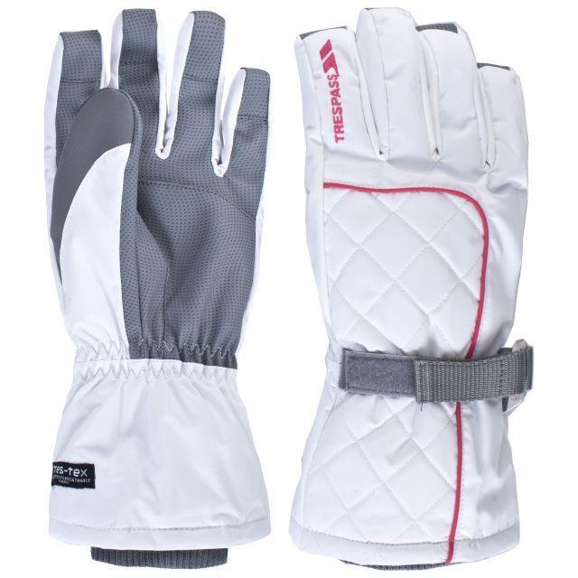 RANNA Adults' Ski Gloves in White