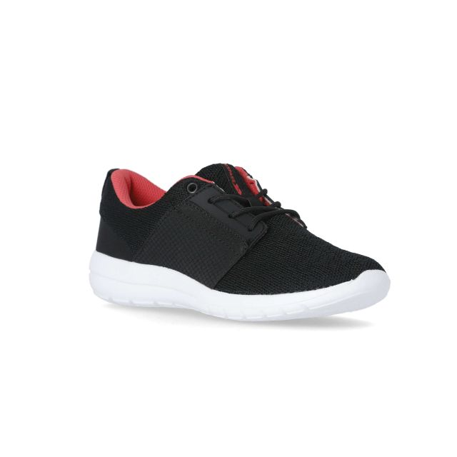 Ravina Women's Lightweight Trainers in Black