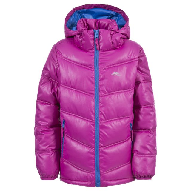 Raza Kids' Padded Casual Jacket in Pink