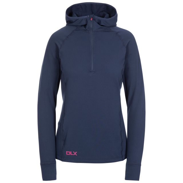 Rebecca Women's DLX Hooded Active Top - NA1