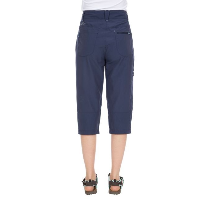 Recognise Women's Quick Dry 3/4 Length Trousers in Navy