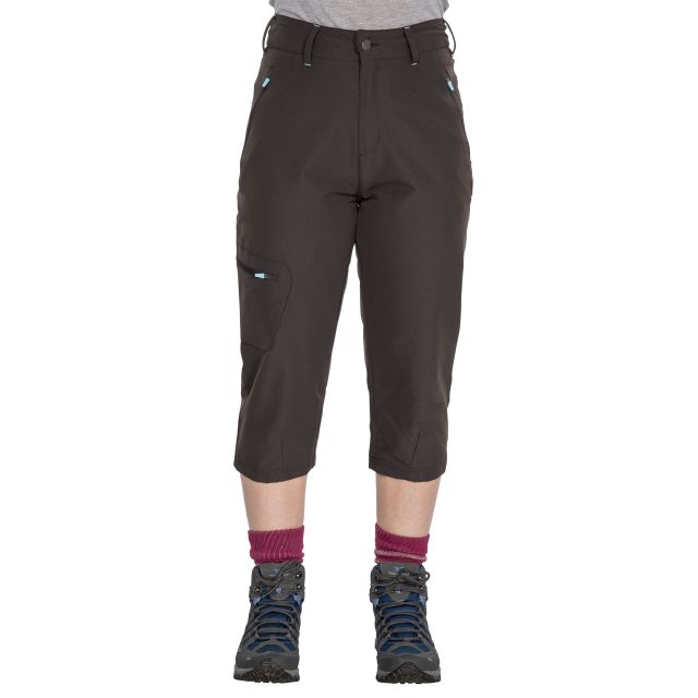 Recognise Women's Quick Dry 3/4 Length Trousers, Front view on mannequin