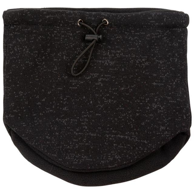 Unisex Reflective Neck Warmer in Black