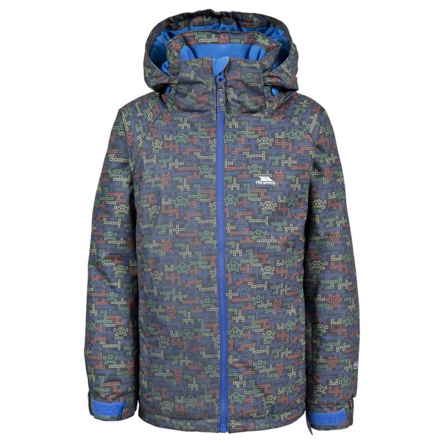 Trespass Kids Ski Jacket in Grey Reggie