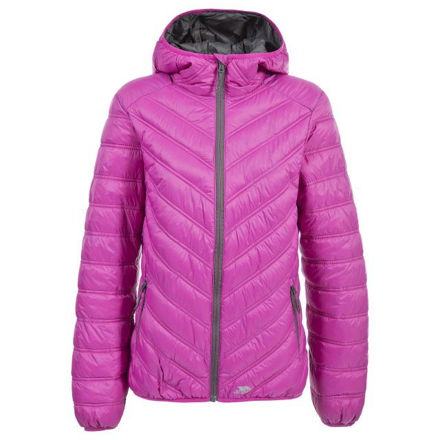 Release Women's Lightweight Padded Casual Jacket in Pink