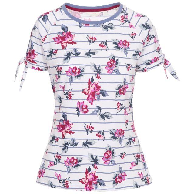 Rena Women's Printed T-Shirt in White