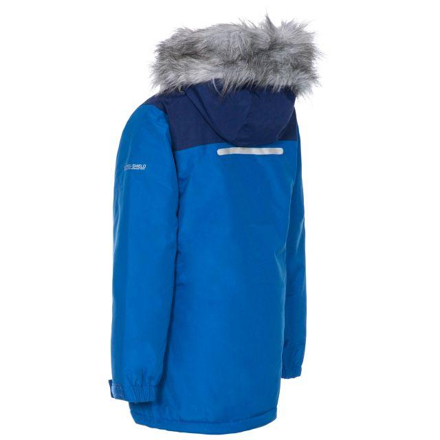 Renee Kids' Padded Waterproof Jacket in Blue