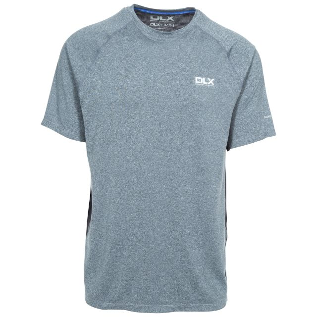 Renold Men's DLX Quick Dry Active T-shirt in Light Grey
