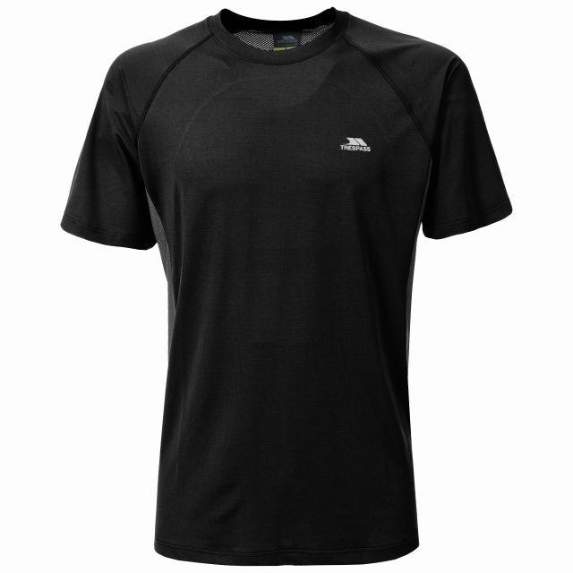 Reptia Men's Quick Dry Active T-Shirt in Black