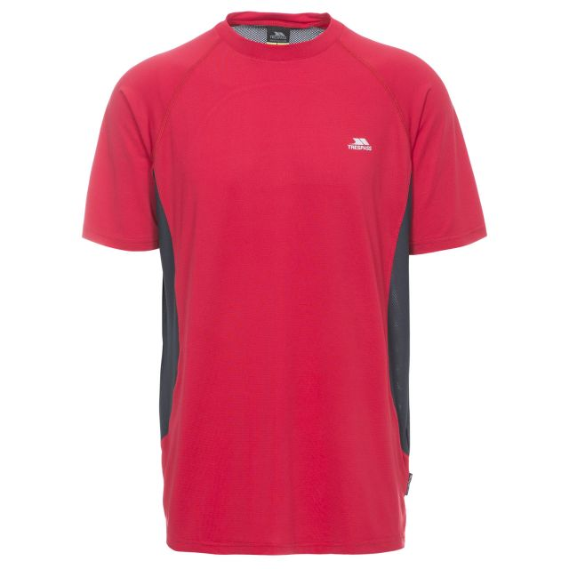 Reptia Men's Quick Dry Active T-Shirt in Red