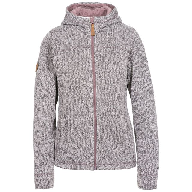 Reserve Women's Fleece Hoodie in Light Purple