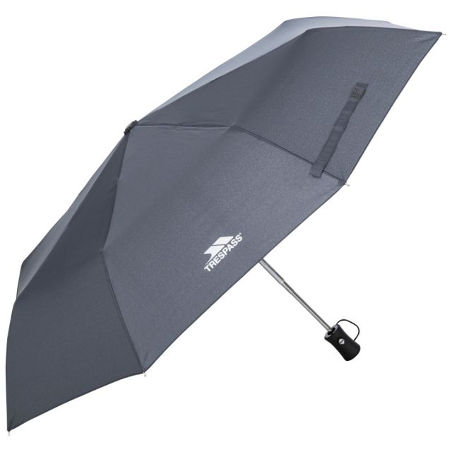 Resistant Compact Umbrella in Grey, Front view