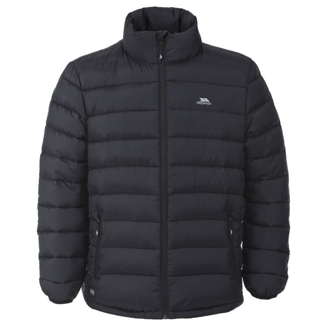 Retreat Men's Casual Down Jacket in Black