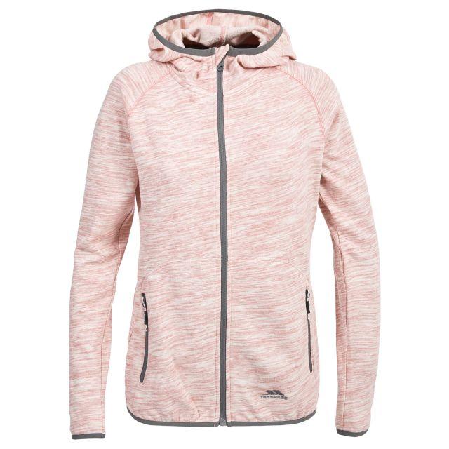Retweet Women's Hoodie in Light Pink
