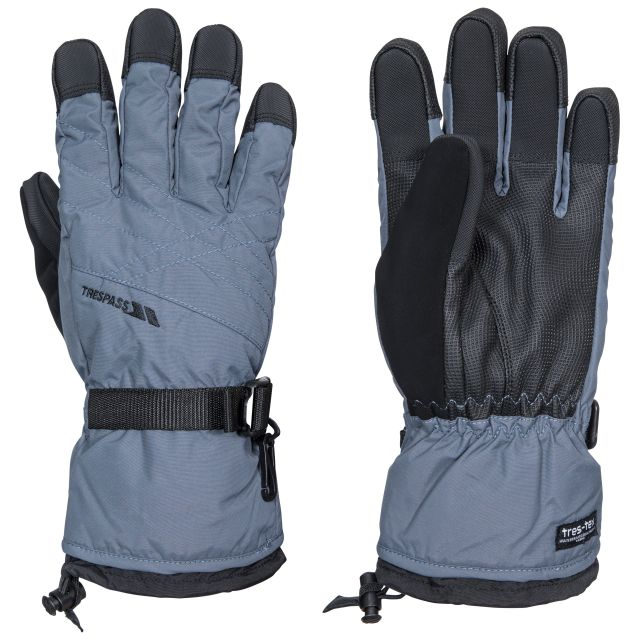 Reunited II Unisex Ski Gloves in Grey