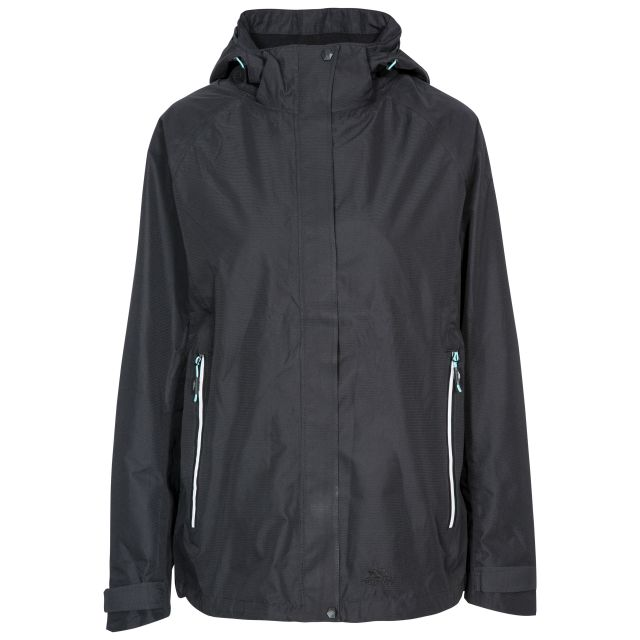 Review Women's Waterproof Jacket in Black