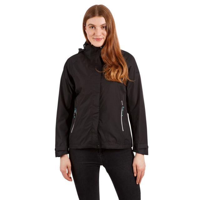 Review Women's Waterproof Jacket in Black