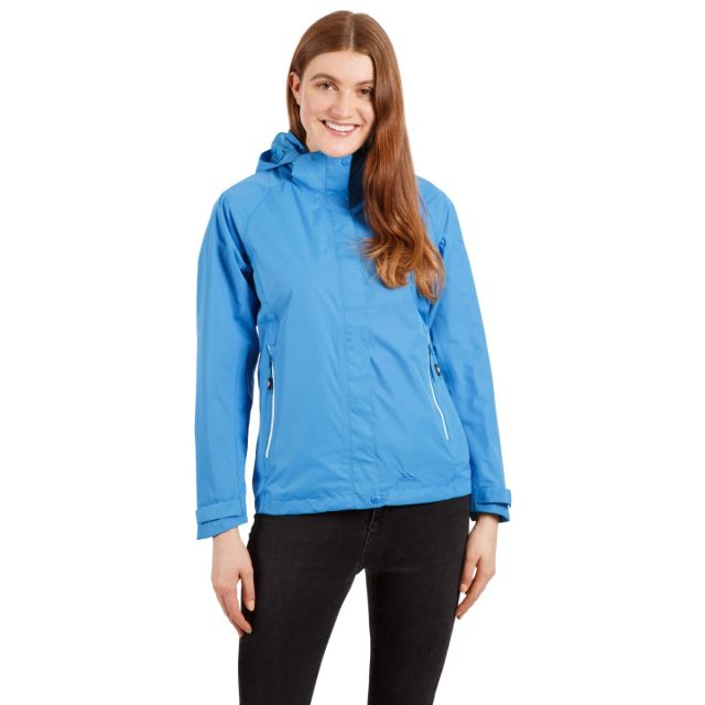 Review Women's Waterproof Jacket in Blue