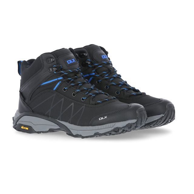 Rhythmic II Men's DLX Walking Boots in Black
