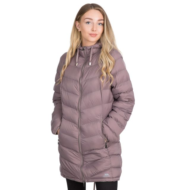 Rianna Women's Padded Casual Jacket in Light Purple