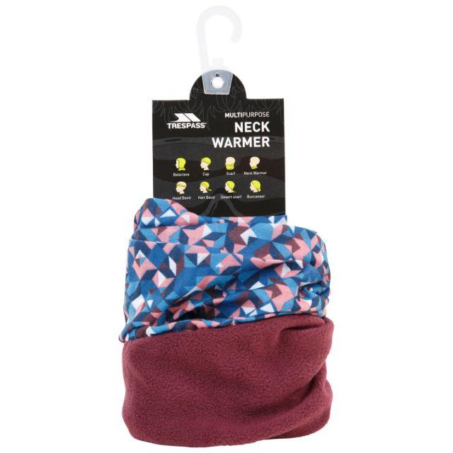 Trespass Unisex Neck Warmer Microfleece Wear 9 Ways Rindell Fig