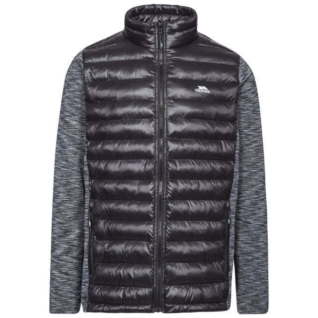 Rockmond Men's Padded Active Jacket in Grey