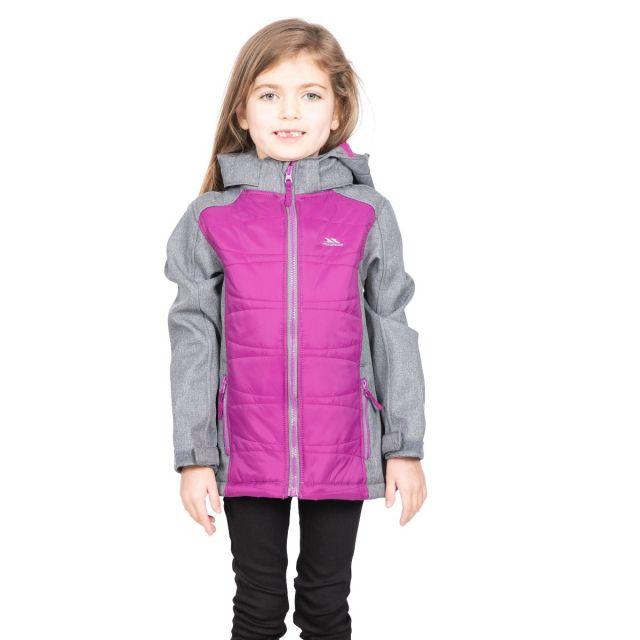 Rockrose Girls' Softshell Jacket in Grey