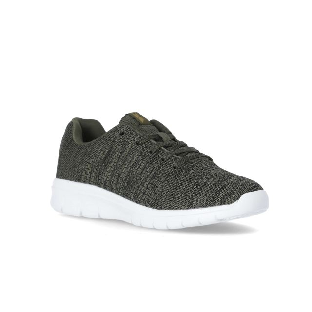 Rodan Men's Memory Foam Trainers in Khaki