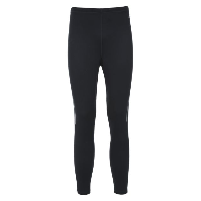 Roderick Mens Active Leggings in Black