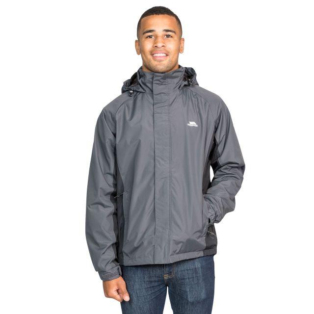 Rogan II Men's Waterproof Jacket in Grey