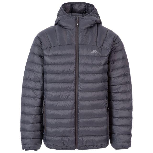 Romano Men's Down Packaway Jacket in Grey