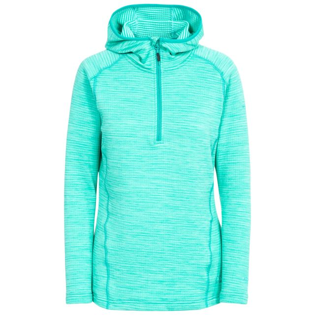 Romina Women's Hooded Fleece in Blue