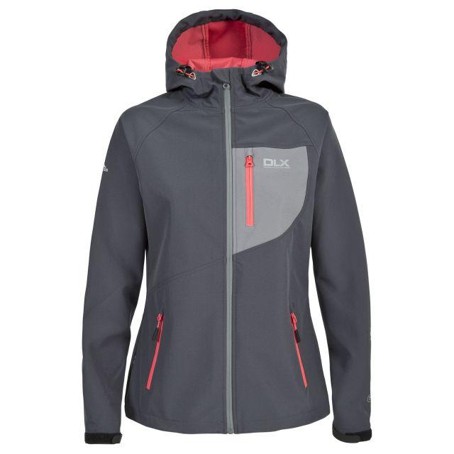Ronda Women's DLX Breathable Softshell Jacket in Grey