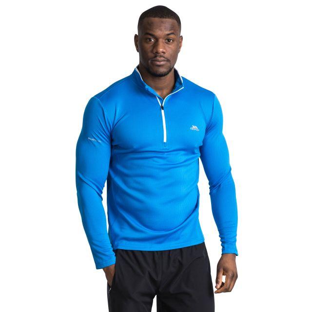 Ronson Men's Quick Dry Active Top in Blue