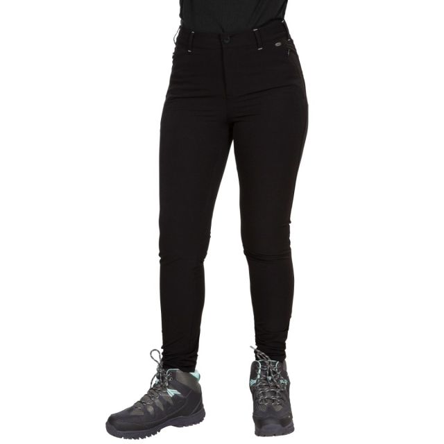 Rooted Women's Water Repellent Walking Trousers - BLK