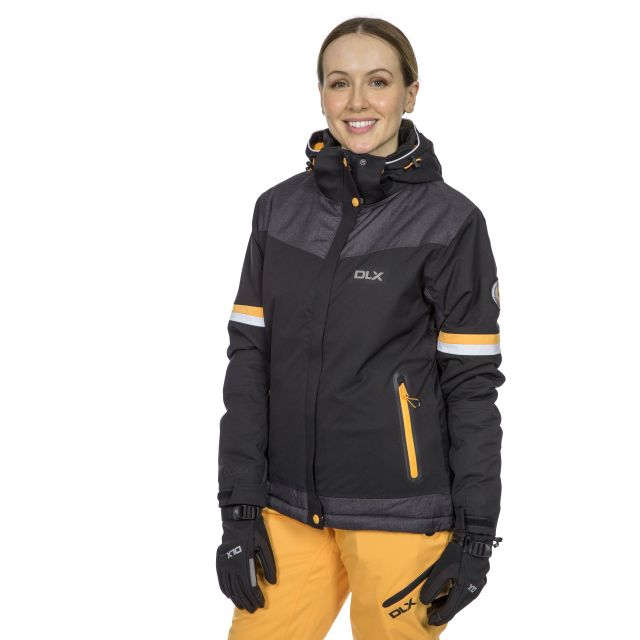Rosan Women's DLX Waterproof Ski Jacket in Black