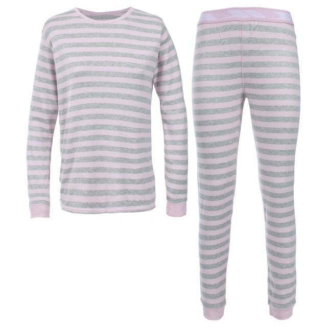 ROSEANNA Women's Pink Base Layer set in Light Pink