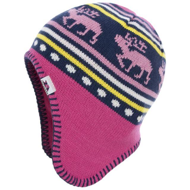 Rudolph Kids' Hat in Pink