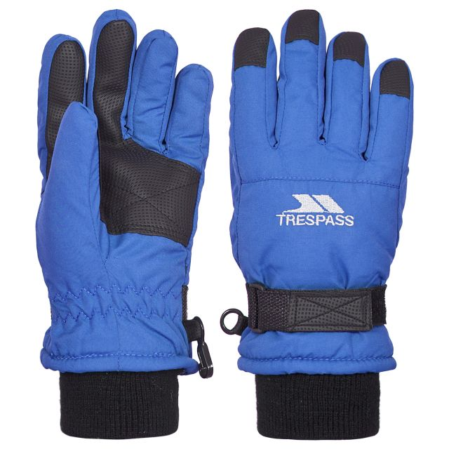 Ruri II Kids' Ski Gloves in Blue