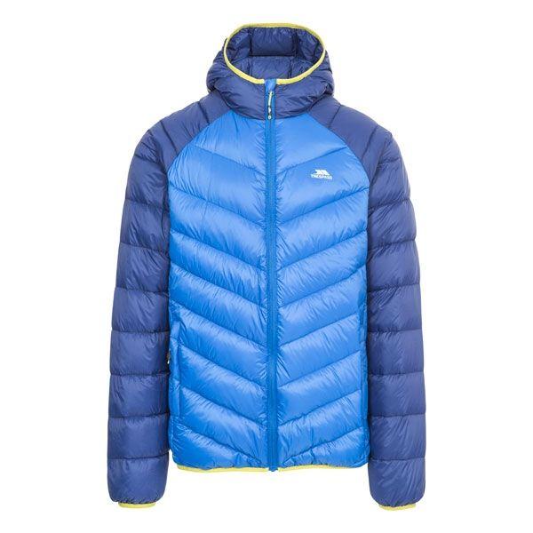 Rusler Men's Hooded Down Jacket  in Blue