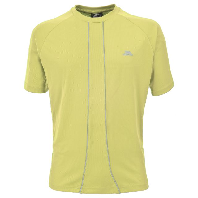 Ruthin Mens Active T-shirt in Neon Green