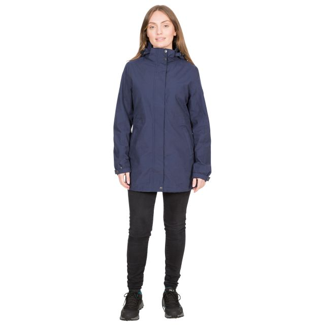Sabine Women's DLX Waterproof Jacket in Navy