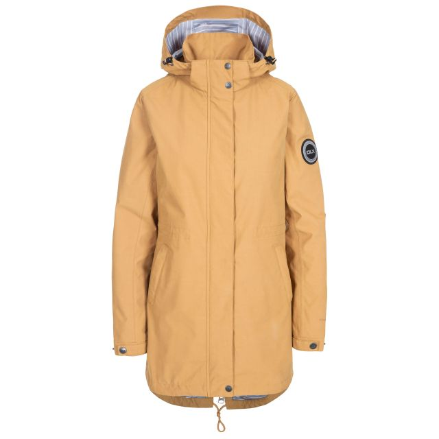 Sabine Women's DLX Waterproof Jacket in Beige