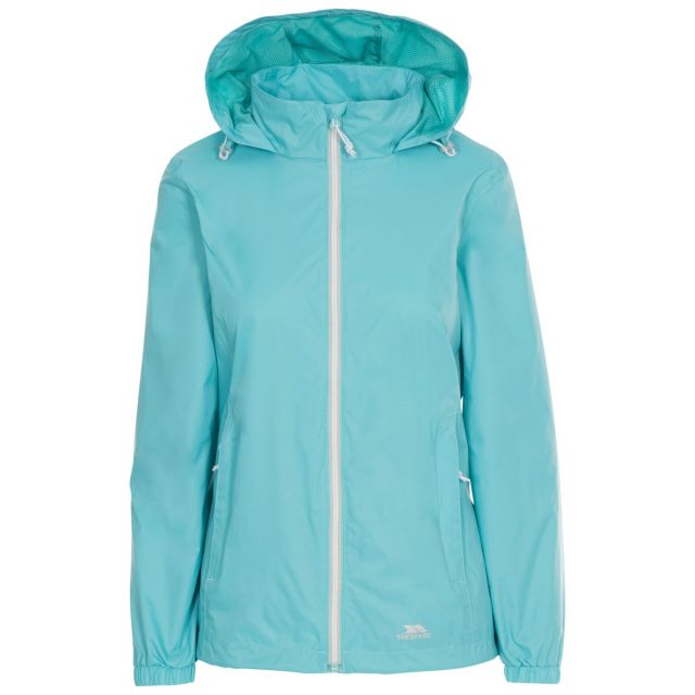 Sabrina Women's Waterproof Jacket in Light Blue