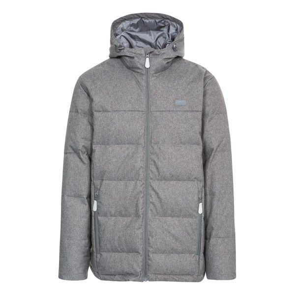 Sadler Men's Hooded Down Jacket  in Grey