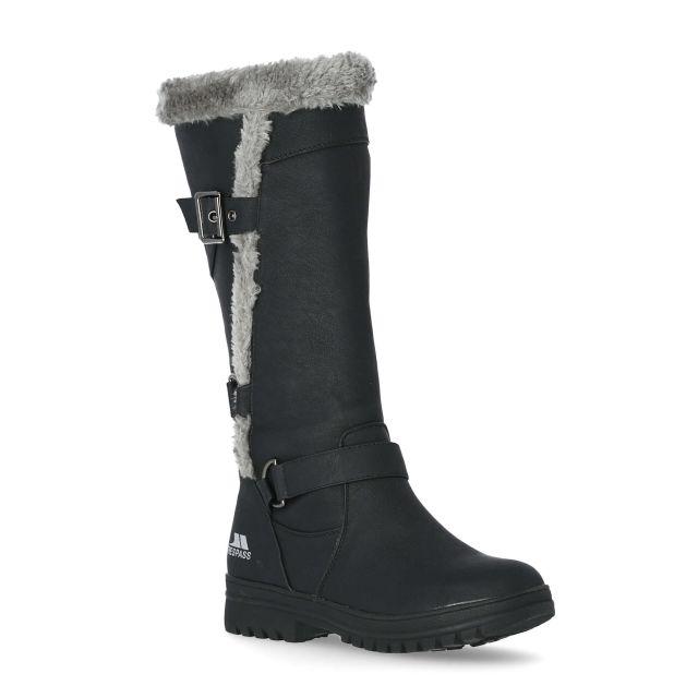 Salvatore Women's Fleece Lined Casual Boots - BLK
