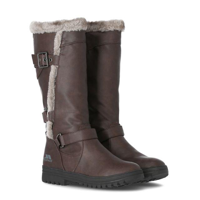 Salvatore Women's Fleece Lined Casual Boots in Grey
