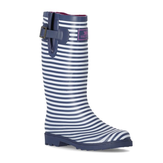 Samira Women's Printed Wellies in Navy