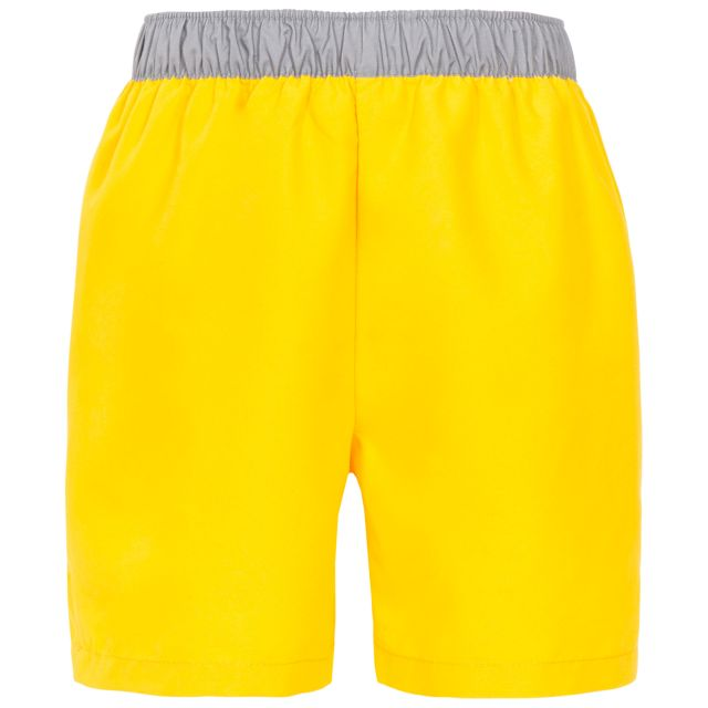 Sanded Kids' Swim Shorts in Yellow