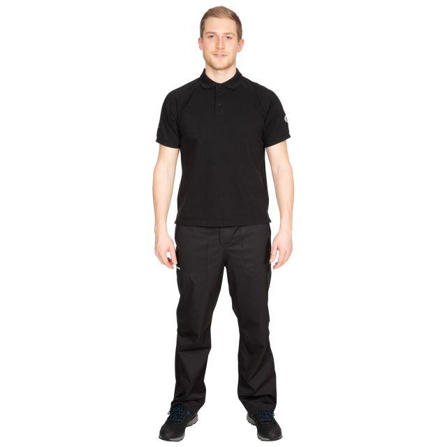 Sanderson Men's DLX Polo Shirt - BLK